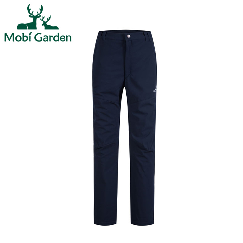 Mobi Garden New Outdoor Cross-country Hiking Climbing Windproof Softshell Pants Men Sports Trousers For Lovers ZWB1302010 MKY184