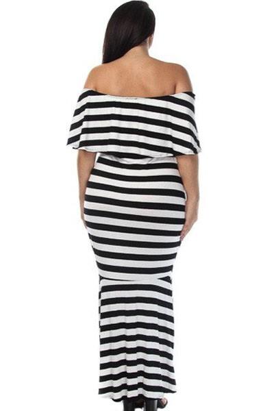 Striped-Ruffle-Tube-Plus-Size-Maxi-Dress-LC61311-19-3