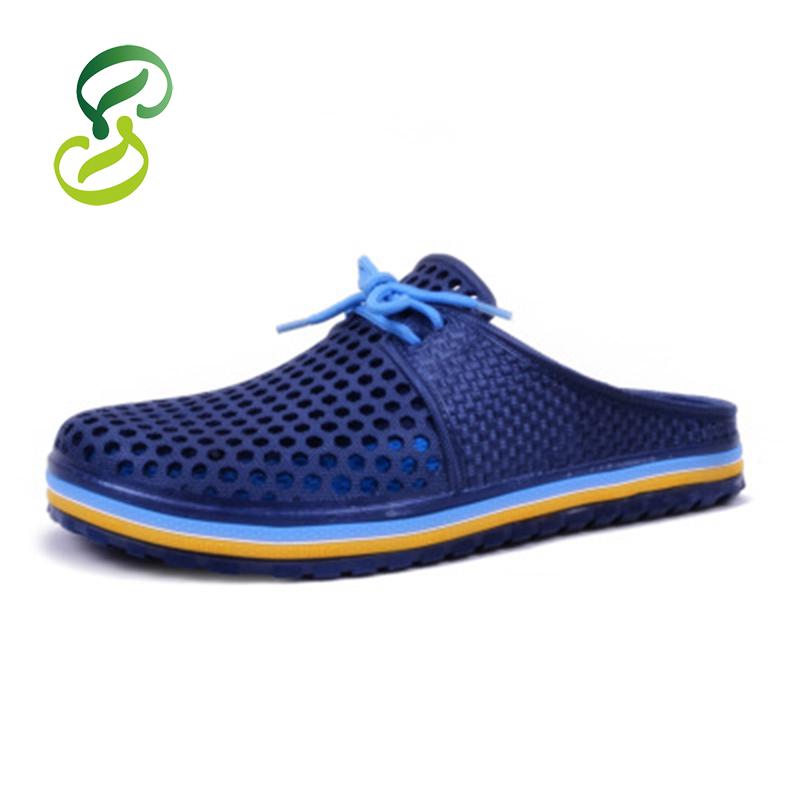 product Men & Women Sandal Slippers Mules Clogs for Women 2015 New Garden Shoes Summer Mesh Hole zuecos goma & sandalias hombre for Men