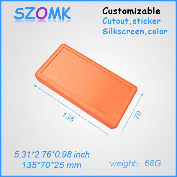 5 pieces a lot  battery housing   Plastic handhel enclosure   135*70*24mm<br><br>Aliexpress