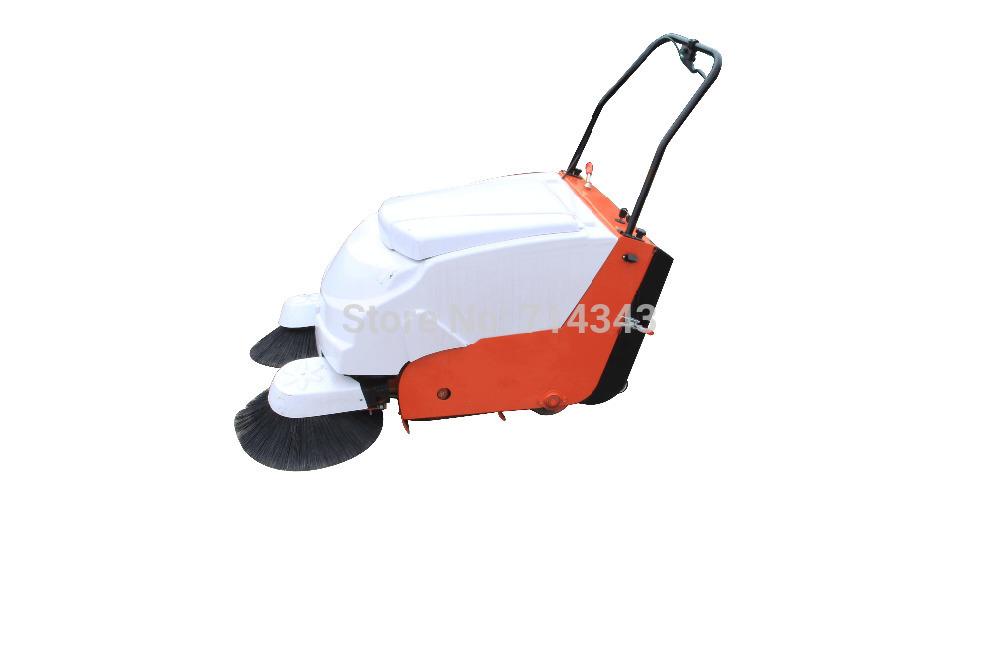 Industrial sweeper walk behind sweeper ground sweeping machine(Hong Kong)