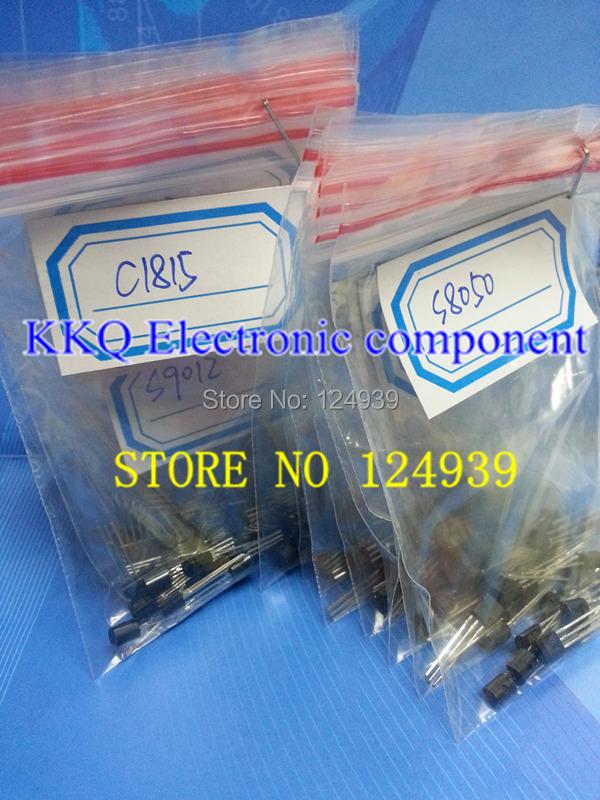 S9012 S9013 S9014 S9018 2SA1015-GR 2SC1815-GR A42 A92 2N5401 2N5551 A733 C945 S8050 2N3904 2N3906 TO-92 17kindsX10pcs=170PCS(China (Mainland))