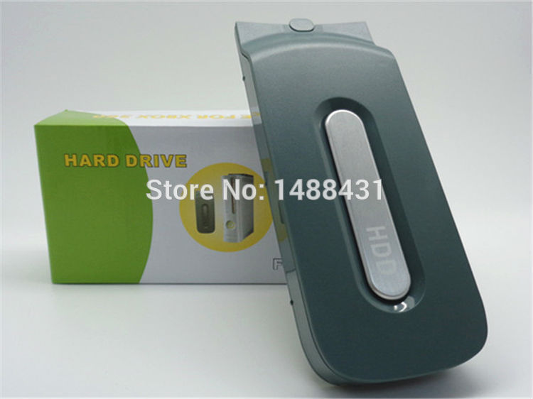 Wholesale 20GB Harddisk Hard DIsk Drive 20G 20 GB HDD For Xbox360fat/Xbox 360 Fat/Microsoft Official Games Console Accessories(China (Mainland))