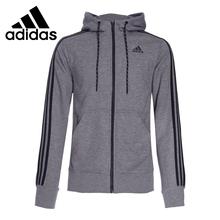 Original Adidas performance men's jacket S12905 Climalite Hooded Sportswear free shipping(China (Mainland))