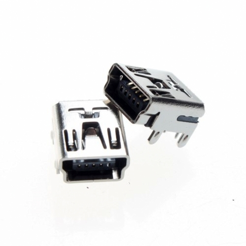100pcs 10 Mini USB Type B DIP Female Socket 5-Pin 5 Pin Jack Connector Port(China (Mainland))
