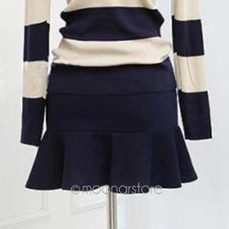 Бесплатная доставка женщин мода стрейч талия короткие юбки конькобежец расширяющиеся юбка в складку сексуальные свободного покроя юбка