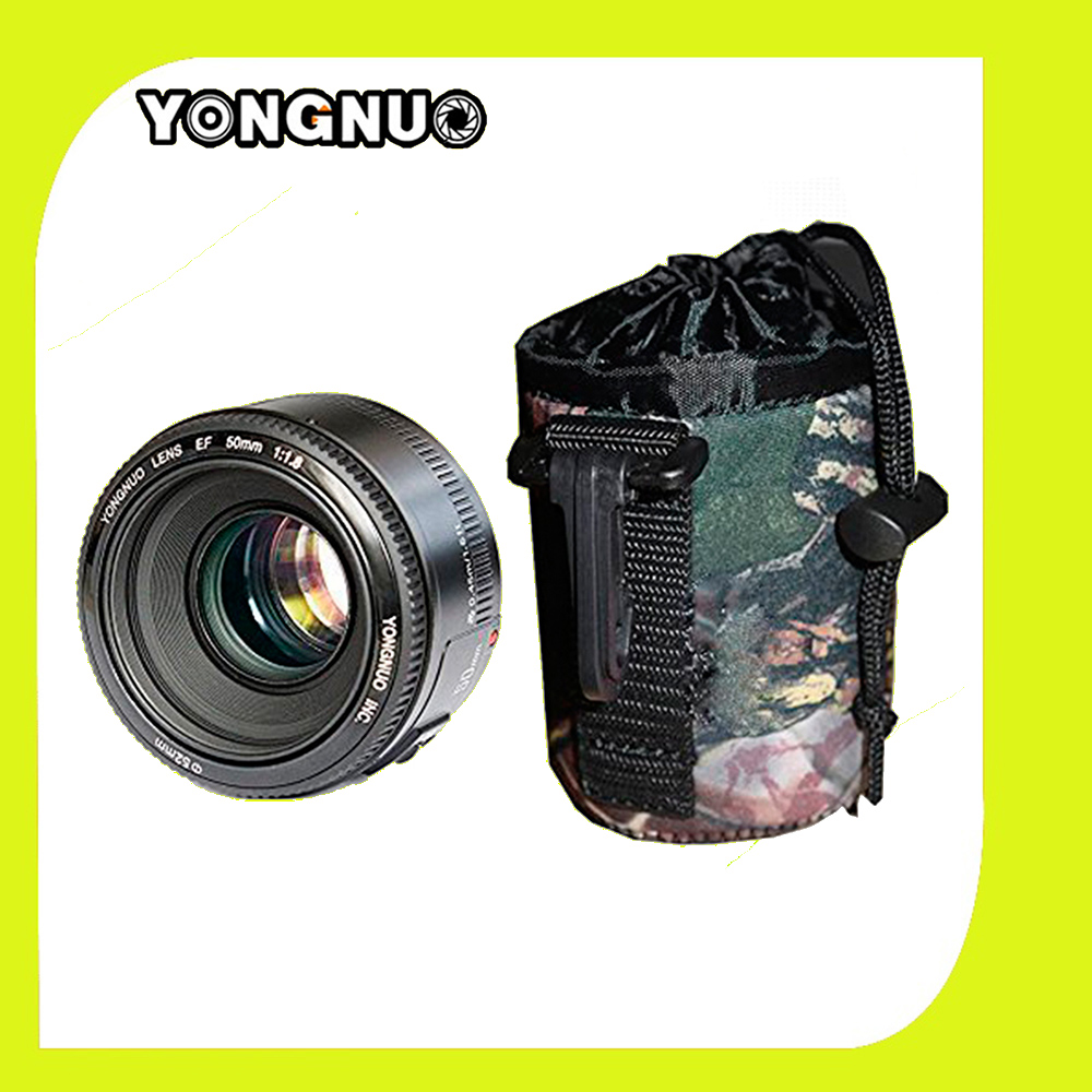 YONGNUO YN 50mm YN50MM Lens Fixed Focus Lens EF 50mm F 1 8 AF MF Lense