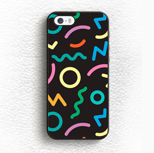 Hipster Colourful Trendy Custom Soft TPU Black Skin Mobile Phone Case For iPhone 6 6S Plus 5 5S 5C SE 4 4S Back Shell Case Cover(China (Mainland))