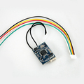 FrSky XSR 2 4GHz 16CH ACCST Receiver w S Bus CPPM Particular for Mini Multicopter QAV