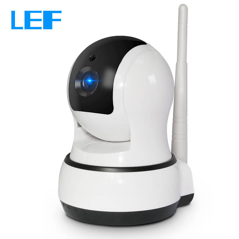LEF C3 720P Wireless IP Camera Night Vision Home Security CCTV Camera WIFI IP Cam Pan/Tilt Remote Control(China (Mainland))
