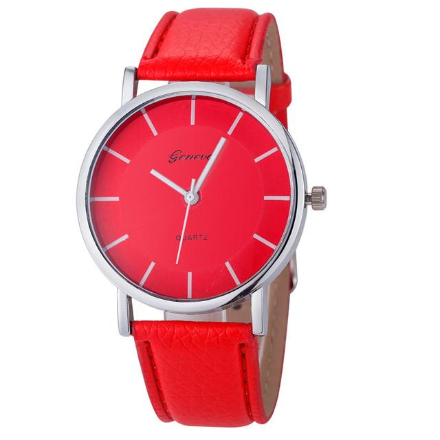 Zegarek unisex GENEVA klasyczny i elegancki dwa kolory