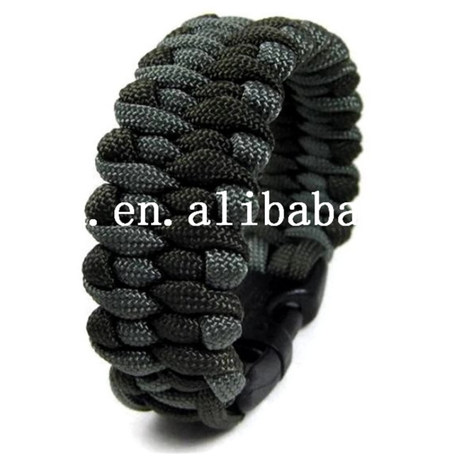 Оптовая продажа мода Paracord браслеты комплект военная аварийного выживание браслет ...