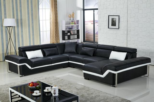 modern sofa set sectional sofa untuk ruang tamu dengan u
