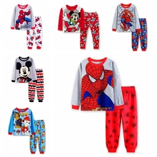 Buy New Design Baymax Printed Suits Boys Big Hero 6 Pajamas Baby Cartoon Pijamas Long Children Clothing set Kids Sleepwears for $39.98 in AliExpress store