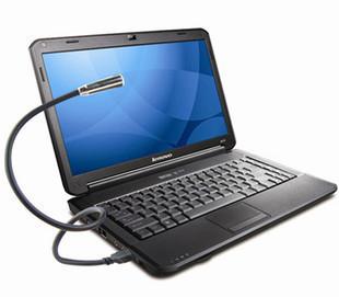 Free Shipping Nightlight Laptop USB Keyboard Light Eye Can Be Twisted Any LED Lights K11045L5(China (Mainland))