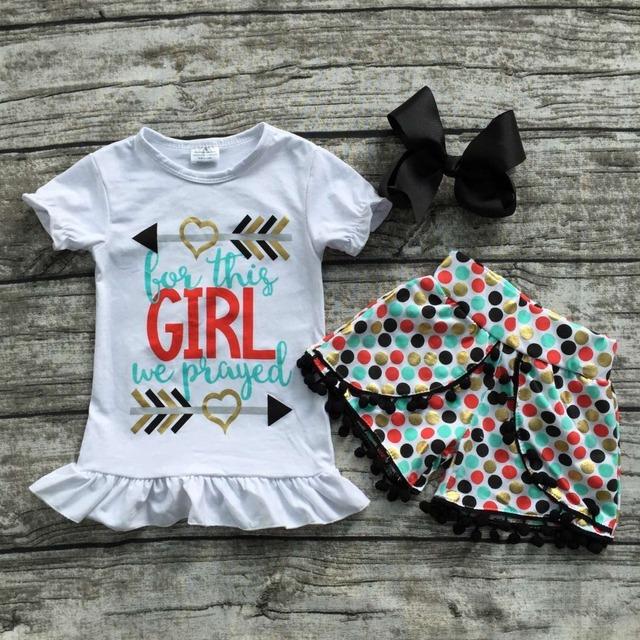 Детские Девушки Летняя одежда новорожденных девочек бутик одежды этой девушки мы ...