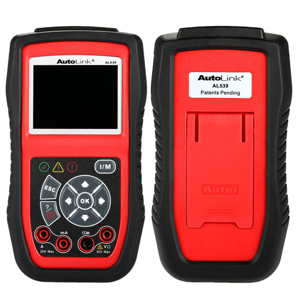 Autel AL539b OBD OBDII Car Style Auto Diagnostic Scanner Car Scan Engine Inspection and Fault Code Reader Diagnostic Tool(China (Mainland))