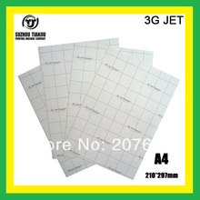 3G JET (A4) Dark color heat transfer paper,t-shirts transfer paper,can be cutting paper-A4(China (Mainland))