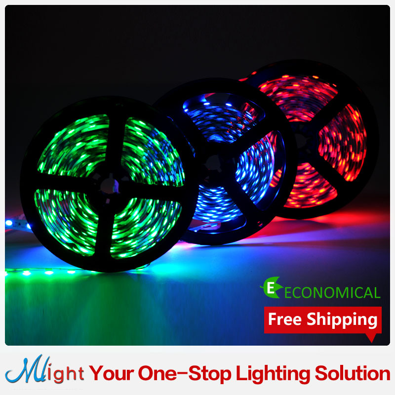 5 meters SMD5050 RGB 12V Flexible LED Tape Light Indoor Lighting Warm White Red Green Blue Colorful 60led/m LED Strip Light(China (Mainland))