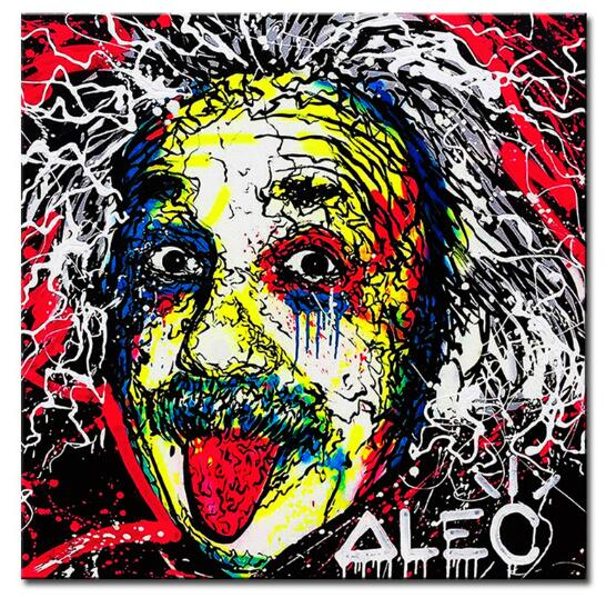 head Alec monopoly Graffiti mr brainwashart print canvas for wall art decoration oil painting painting picture No framed(China (Mainland))
