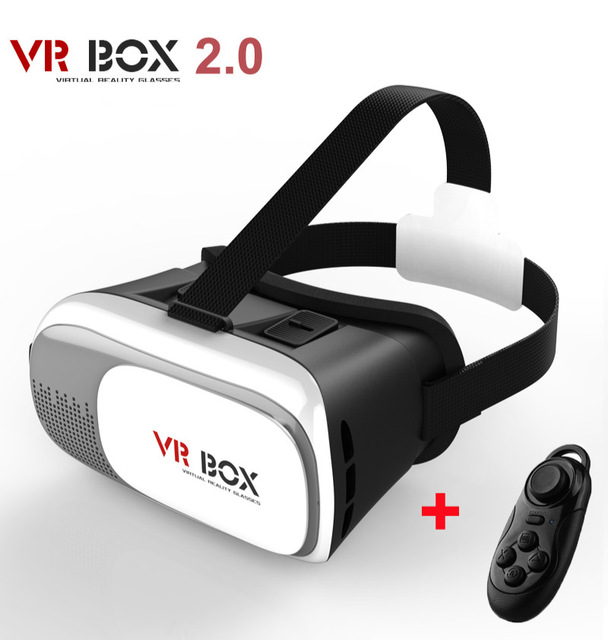 DESTEK 3D VR Virtual Reality Headset 3D VR Glasses For 4~6 inch Smartphones Detailed Review with white bluetooth remote control(China (Mainland))
