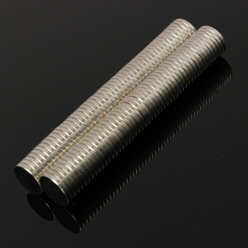 50 pcs Lot Small Neodymium Magnets Thin Disk N52 Craft Refrigerator Reborn Diy Magnetic Materials 8 mm Diameter x 1 mm