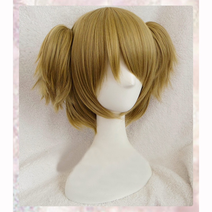 Love Live! LoveLive! Hanayo Koizumi Wig Short Curly Linen Mixed Anime Cosplay Wig Ponytail Wigs Free Shipping<br><br>Aliexpress
