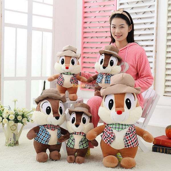 Fancytrader 28'' / 70cm Giant Stuffed Lovely Plush Funny Animal Chipmunk Squirrel Toy, 3 Colors Available, Free Shipping FT50567(China (Mainland))