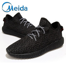 Brand Fashion Men Shoes Walking Outdoor Casual Breathable Flat With Canvas Shoes Lace Up Trainers Mixed Color Zapatillas 350