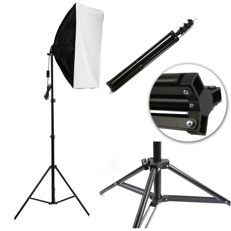 2015 New 2m 78in Aluminum Photo/Video Tripod Light Stand For Studio Kit Lights SoftBoxes#F80703(China (Mainland))