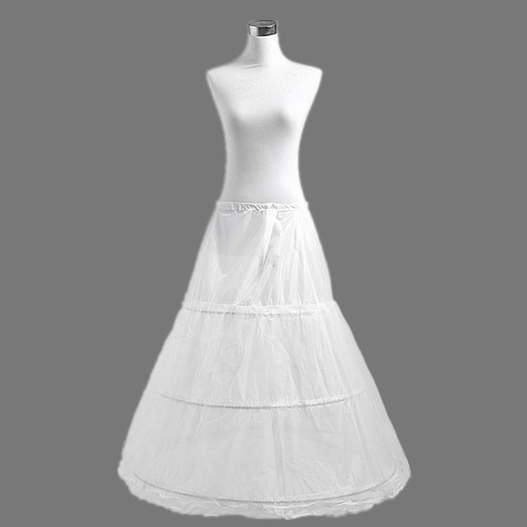 2015 Wedding Petticoat Good Quality Underskirt Crinoline White Dresses - Penny Pan's store