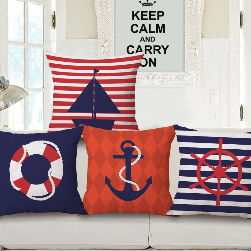 preis auf nautical decorative pillows vergleichen online. Black Bedroom Furniture Sets. Home Design Ideas