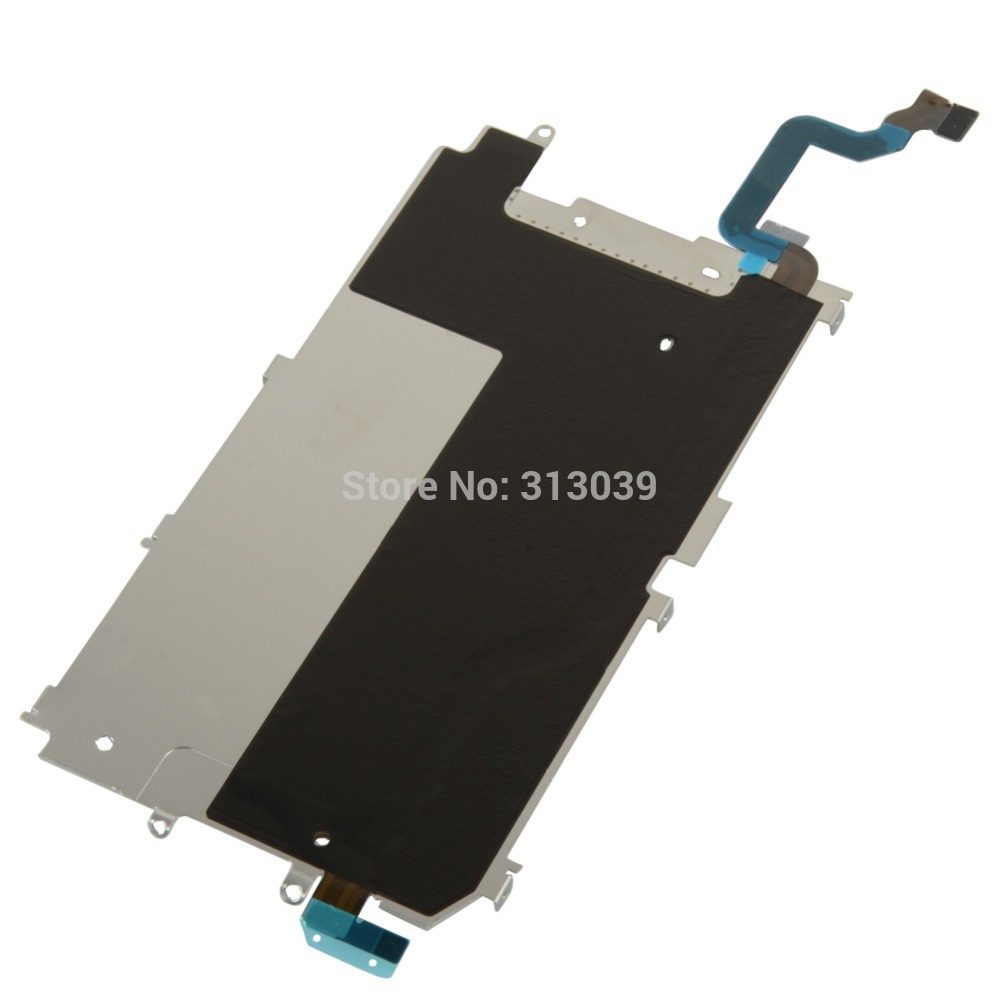 """A22 Metal Backplate Shield + Home Button Extend Flex Cable for iPhone 6 4.7"""" free shipping new high quality D1532 P"""