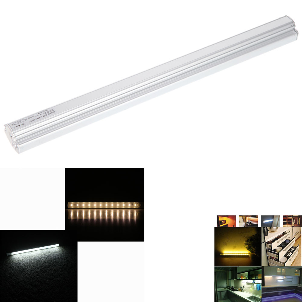 30cm PIR Motion Sensor Lamp LED Cabinet Light Tube for Kitchen Wardrobe Cupboard Closet home Lighting White/Warm White(China (Mainland))