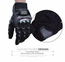 Motorbike Gloves Outdoor Sports Riding Glove Breathable Protective Paired Full Finger Moto Luvas Mesh Fabric Racing Gears Gloves(China (Mainland))