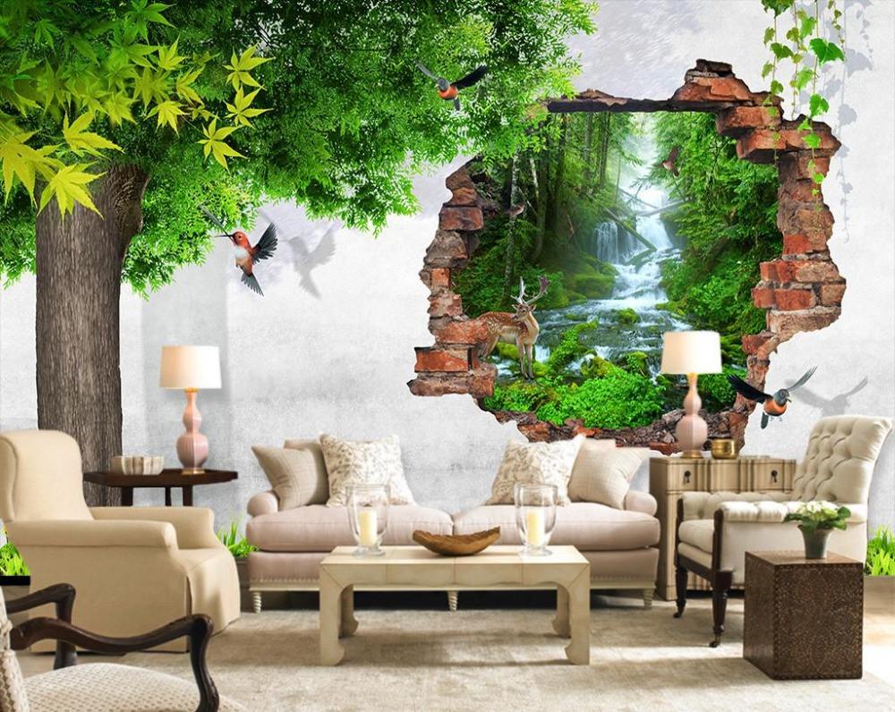 Boom Natuur Behang Promotie-Winkel voor promoties Boom Natuur ...