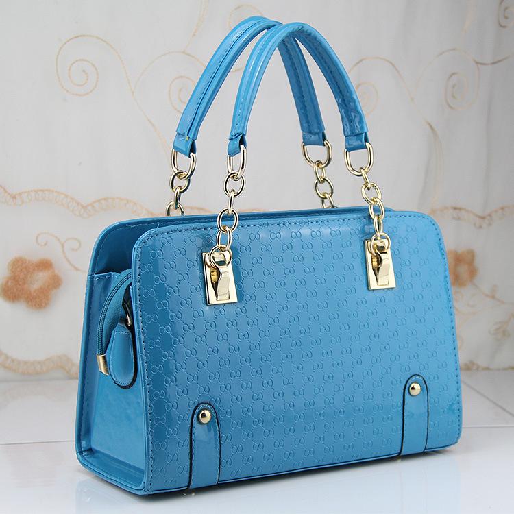 Women shoulder bag 2016 fashion chain Elegant PU crossbody bag handbag(China (Mainland))