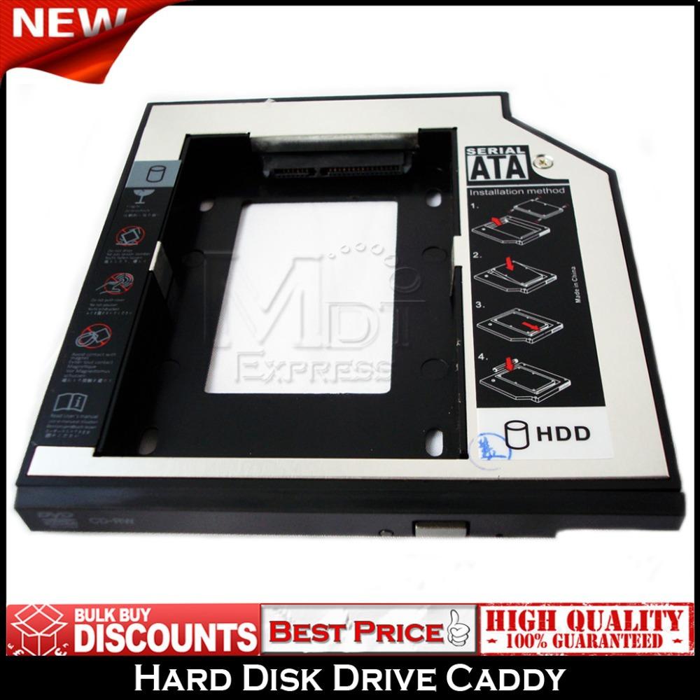 New! SATA 2nd Hard Disk Drive HDD IDE to SATA Caddy Bay Tray for IBM Lenovo ThinkPad R60i R61 R51 R52 R60 R61i R50(China (Mainland))
