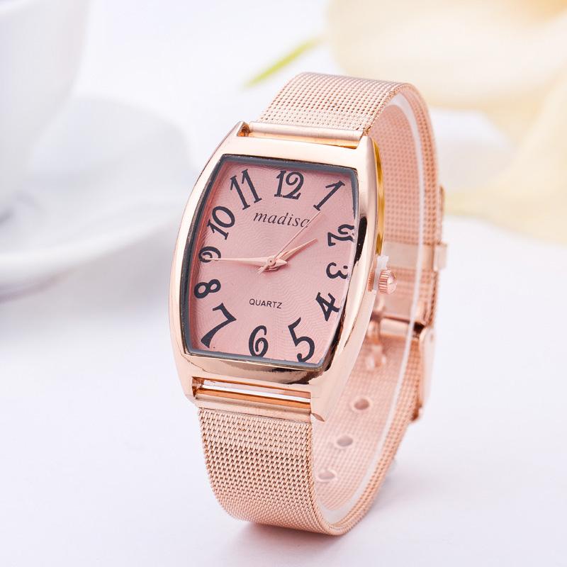 2015 New Fashion Rectangle Female Clocks Women Luxury Watch Stainless Steel Business Watch Elegant Dress Wristwatch WS127<br><br>Aliexpress