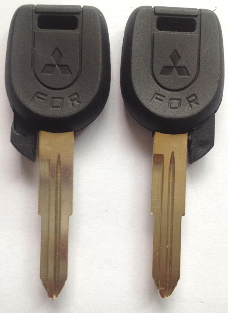 KL6-3 Mitsubishi key case shell high quality car key blank right side key way(China (Mainland))