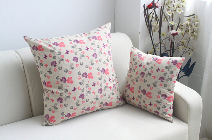 Throw Pillows Outdoor : Pillow Cushion Cover Decorative Throw Pillows Butterflies Flowers Seat Covers For Dining Room Chairs