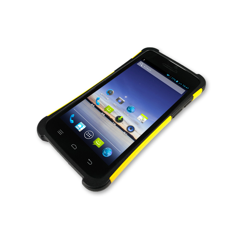 android pda rfid reader handheld android rugged pda pda mobile phone 2D Barcode scanner 5 inch pda(China (Mainland))