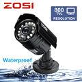 ZOSI 8CH CCTV System 8 Channel 720P DVR 4PCS 1200TVL IR Home Security Camera System Surveillance Kits