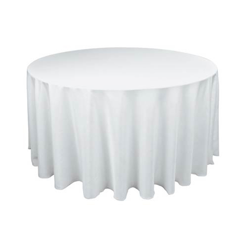 "90""/228cm Round Satin Tablecloth Table Cover Table Cloth Oilproof Wedding Party Restaurant Banquet Home Black White(China (Mainland))"