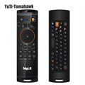 New Mele F10 Deluxe 2 4GHz Fly Air Mouse Wireless QWERTY Keyboard Remote Control with IR