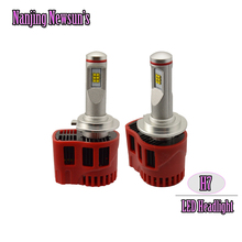 Buy Super Bright H7 Car Led Headlights Bulbs 45W 6000K Xenon White Auto Front Bulb Automobile Headlamp 5000K 6000K Car Lighting for $49.00 in AliExpress store