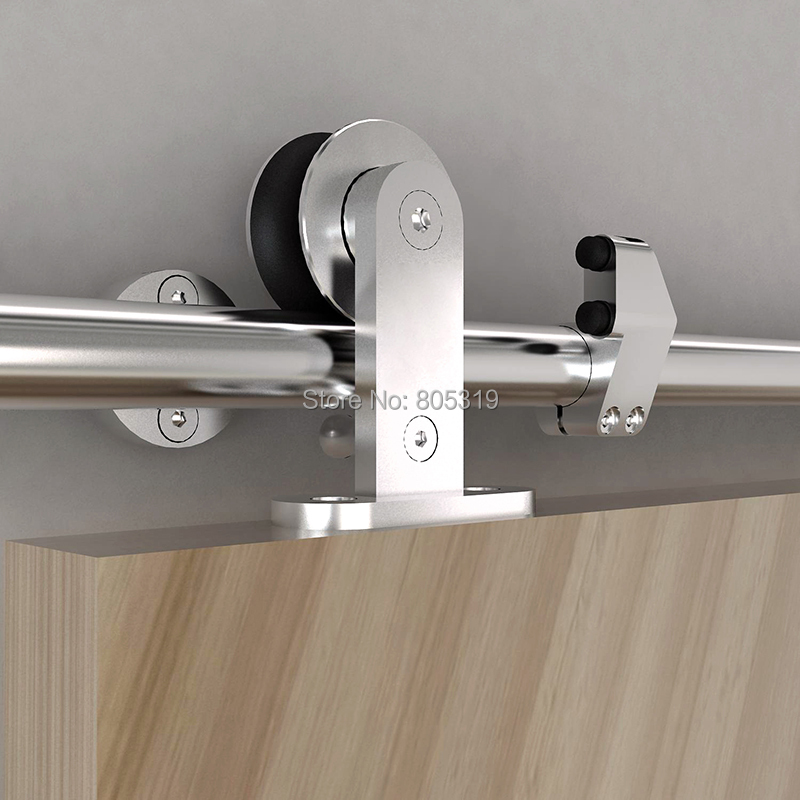 Buy 5ft european style sliding for Diy barn door hardware