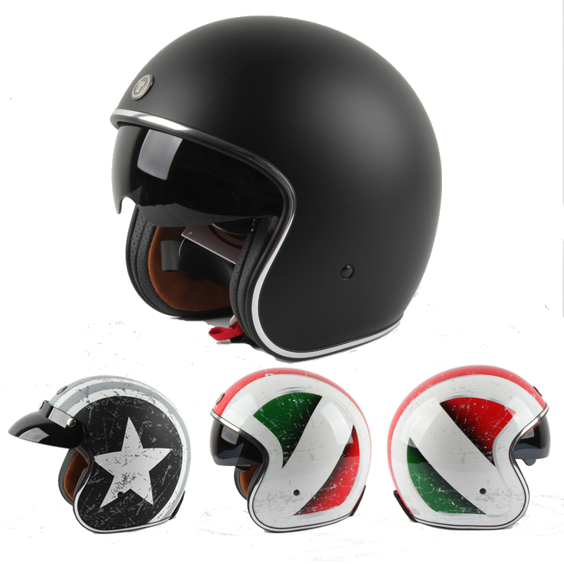 free shipping casco capacetes vintage vetro man womens Tanked Racing Open Face helmet Jet Helmet Chopper motorcycle helmet<br><br>Aliexpress