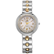 Luxury Top Brand Gold Women Quartz Watches Dress Lady High Quality Fashion Casual Rhinestone Gift Wedding Bracelet Wristwatches