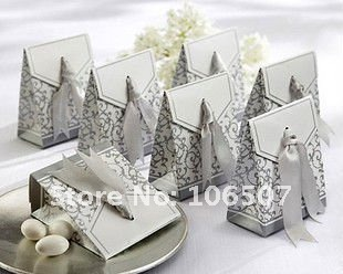 Quality Guarantee,100PCS Favor Gift Box Wedding Supplies-Wholesale and retail